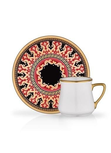 Glore Türk Kahvesi Set 6'Lı Ceyhan Renkli